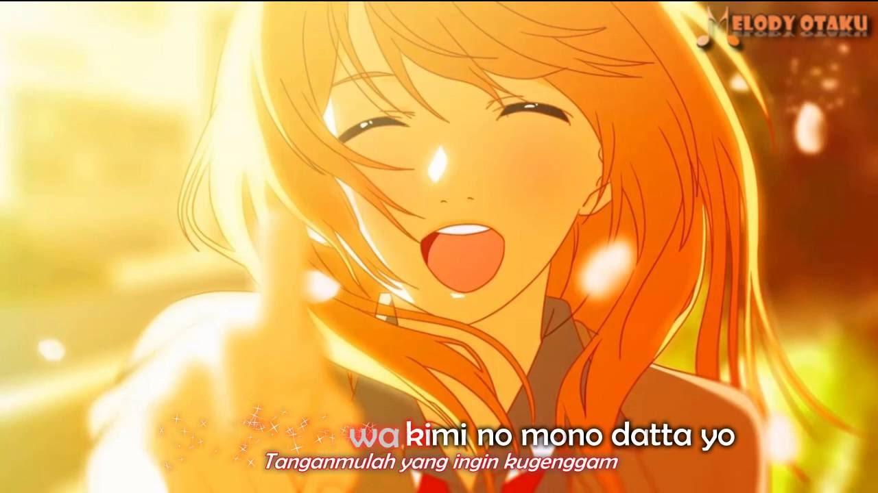 Shigatsu wa kimi no uso ending 1 kirameki wacci kara sub indo karaoke anime