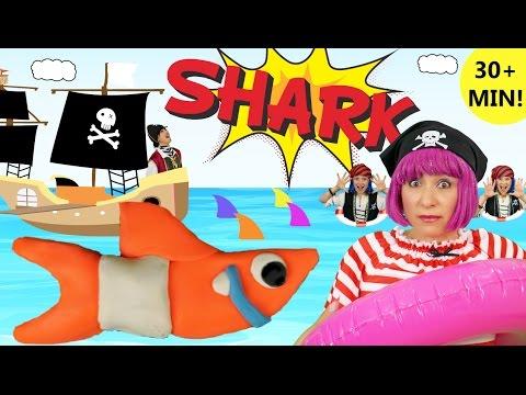 Baby Shark Song | Plus More Kids Songs & Nursery Rhymes | Debbie Doo