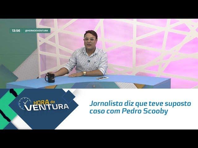 Bomba: Jornalista diz que teve suposto caso amoroso com Pedro Scooby - Bloco 01