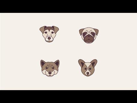 How to make Dog Icon in Adobe Illustrator CC
