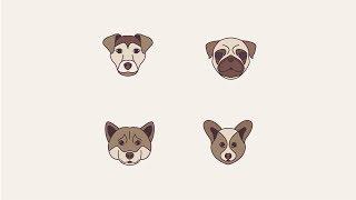 Adobe Illustrator CC Köpek Simgeleri nasıl