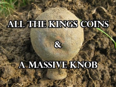 All the kings coins & a massive knob - #35 Metal Detecting UK.