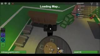 Roblox I play Zombie Rush with my Friend