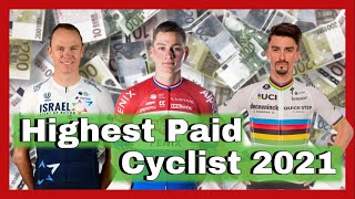 Top 20 Highest Salaries in Pro Cycling 2021: Mathieu Van der Poel, Chris Froome & Tadej Pogačar €€€