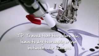 BERNINA PaintWork: how to use PaintWork with your BERNINA embroidery system