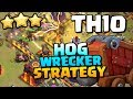 """The AMAZING """"Hog Wrecker"""" ATTACK STRATEGY at TH10   Clash of Clans"""