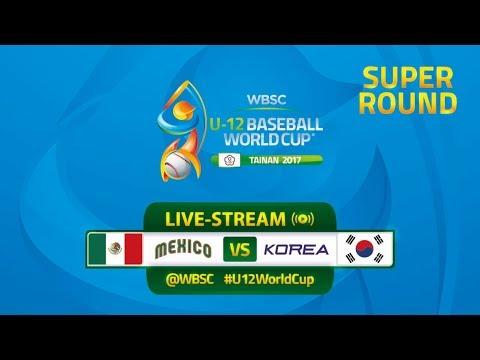 Mexico v Korea - WBSC U-12 Baseball World Cup 2017