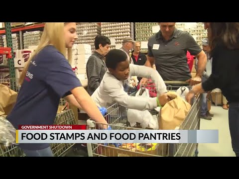VIDEO: Food banks preparing in case government shutdown affects food stamps