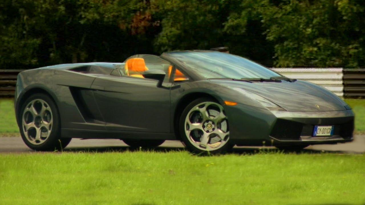 Lamborghini Gallardo Spyder Tbt Fifth Gear Youtube