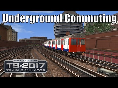 Train Simulator 2017 - District Line - Acton Town to Earl's Court - D Stock