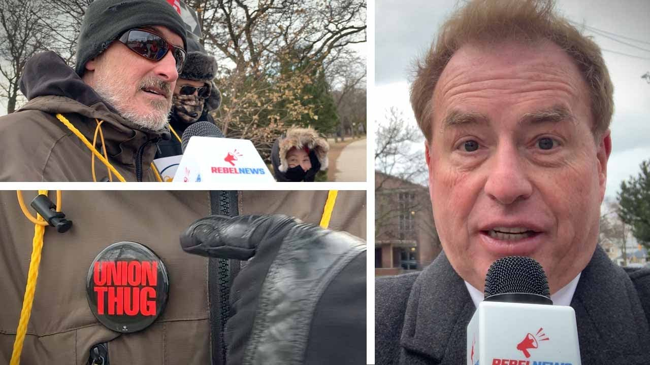 Teachers on strike: Picketers won't answer reporter who once attended their school | David Menz