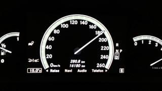 Mercedes CL 500 Coupé Beschleunigung 0-250 km/h | M278