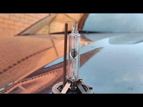Suzuki Grand Vitara Замена ксеноновых ламп ближнего света.
