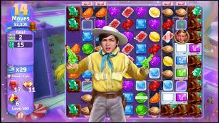 Wonka's World of Candy Level 585 - NO BOOSTERS + FULL STORY ???? | SKILLGAMING ✔️