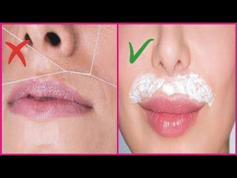 How To Remove Upper Lips Hair Permanently | Beauty Tips For Girls