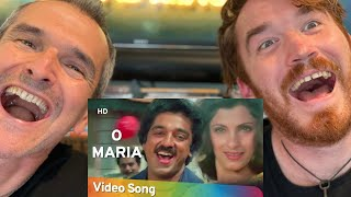 O Maria O Maria | Saagar (1985) | Kamal Hassan | Dimple Kapadia | S. P. B REACTION!!