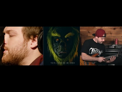 """Asking Alexandria's Danny Worsnop w/ Jared Dines post cover """"You're A Mean One, Mr. Grinch"""""""