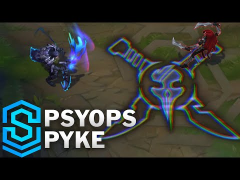 PsyOps Pyke Skin Spotlight - Pre-Release - League of Legends