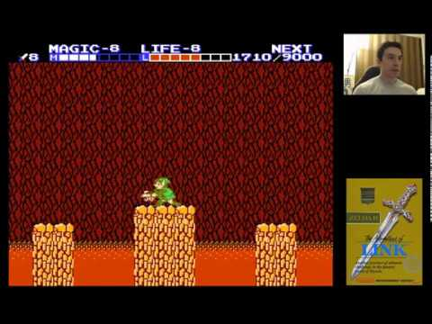 Zelda II (1987) for NES - 7/7 - Great Palace
