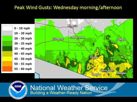 Briefing on Hurricane Newton and potential impacts across southeast Arizona
