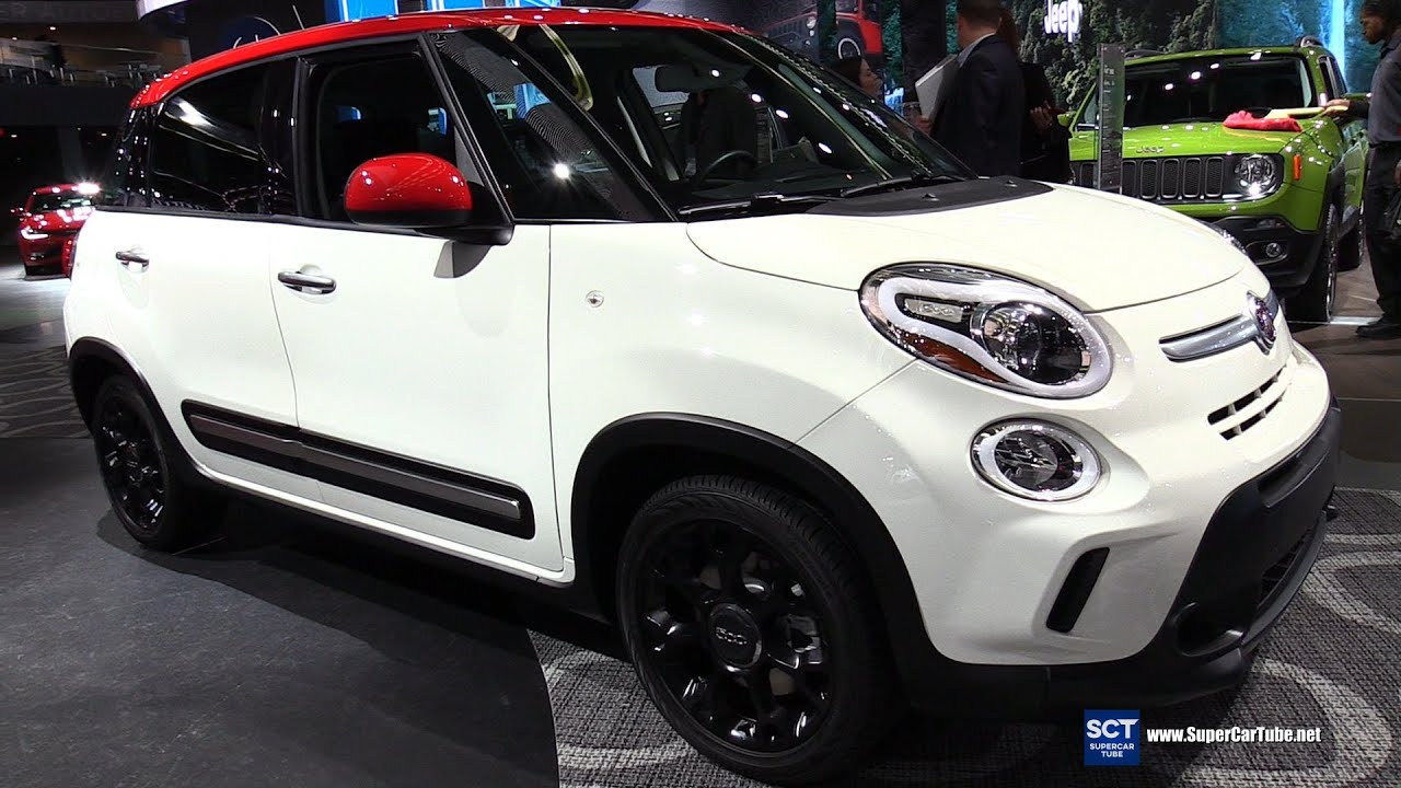 2016 fiat 500l exterior and interior walkaround 2016 detroit auto show youtube