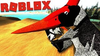 Roblox (Era Of Terror) | Dupla Caçadora Pterodactylus / Pterossauro {ft. Fera Gaming} | (PT/BR)