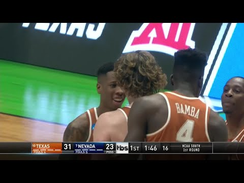 Nevada Wolf Pack vs. Texas Longhorns: 1st Half Highlights