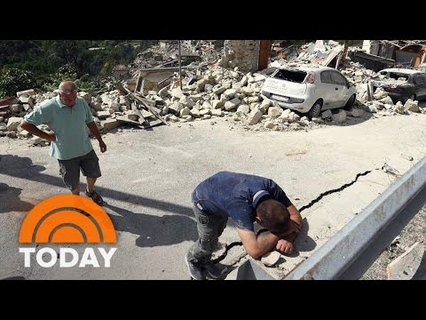 Little Girl Rescued From Italy Earthquake Rubble; Death Toll Rises To 247 | TODAY