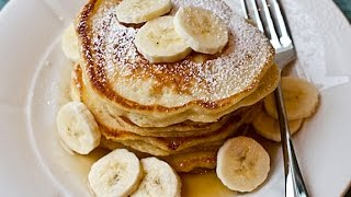 Banana Pancakes (made In A Blender!) - Recipe
