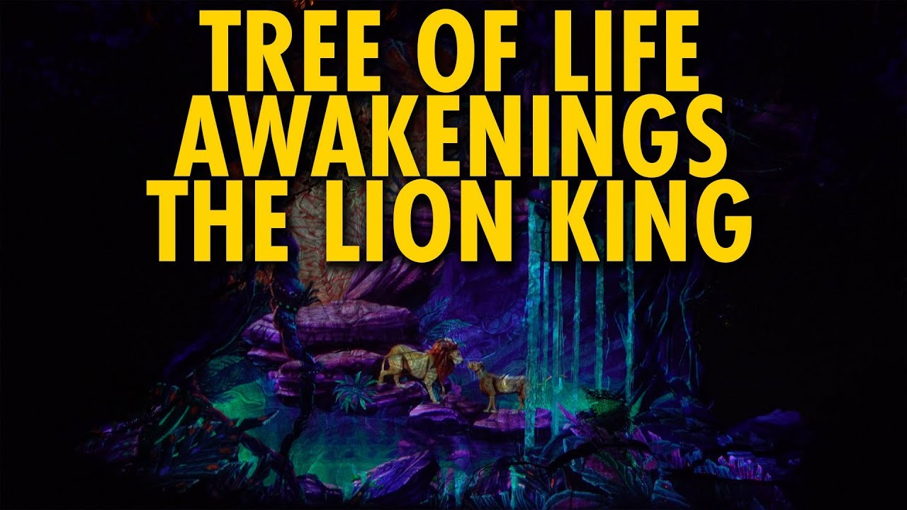 The Lion King Tree Of Life Awakenings Disney S Animal Kingdom Youtube