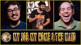 My Job, My Home & The Maid Reaction and Discussion | Stand Up Comedy by Sumit Anand