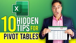 Top 10 Excel Pivot Table Tips - Excel 2016, 2013, 2010 & 2007