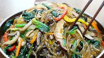 잡채를 더욱 맛있게 만드는 레시피 :: 잡채 황금레시피