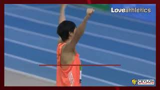 Naoto Tobe's shock 2.35m clearance in the high jump highlighted the...