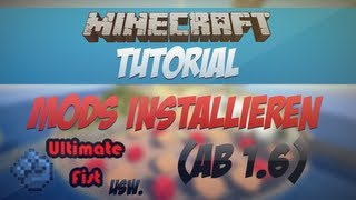 Minecraft - Mods installieren 1.8 [HD] Ultimate Fist; Too many Items; Planes Mod; Gun Mod; etc.