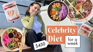 I Tried a Celebrity Meal Plan for a week // Methodology