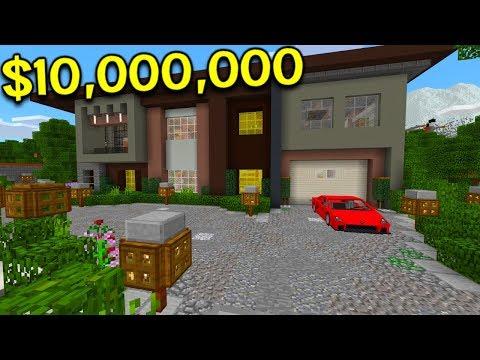 $10,000,000 MANSION IN MINECRAFT!