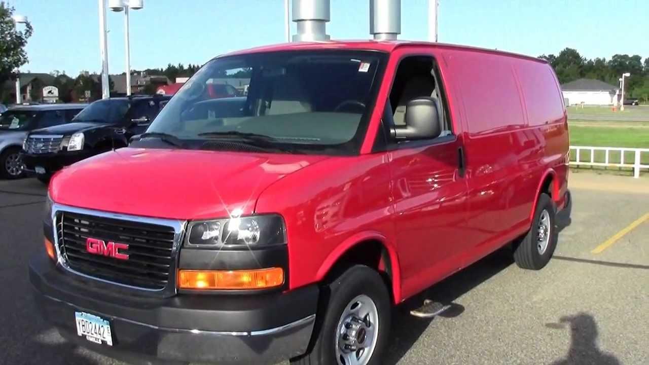 2010 GMC Savana Cargo Van RWD 3500