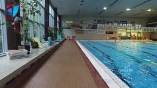 Krytý bazén čeká rekonstrukce.