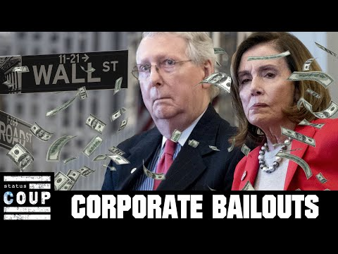 Wall Street Popping Champagne After Nancy Pelosi & Mitch McConnell Coronavirus Corporate Bailout