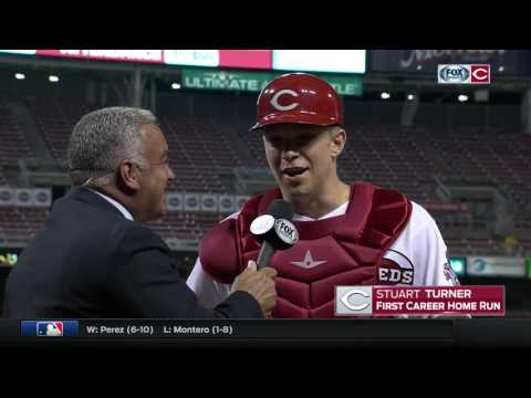Cincinnati Reds Catcher Stuart Turner Reacts To First Career Home Run: 'Unbelievable'