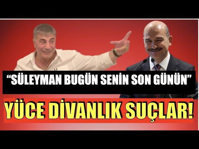 PEKER BOMBAYI PATLATTI... SOYLU'YU YÜCE DİVAN'A GÖNDERDİ...#SedatPeker9