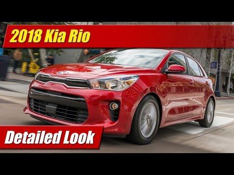 2018 Kia Rio: Detailed Look