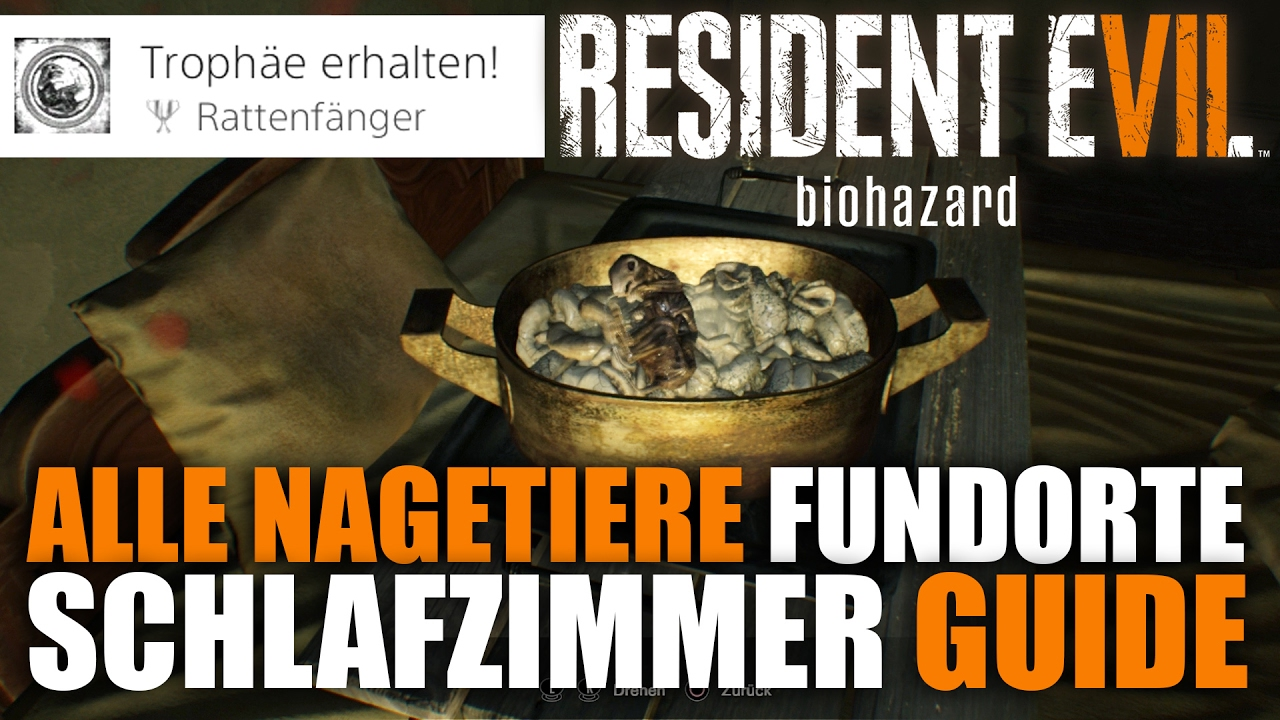 Resident Evil 7 Schlafzimmer Alle Nagetiere Fundorte Resident Evil 7 Schlafzimmer Guide Verbotenes Filmmaterial 1