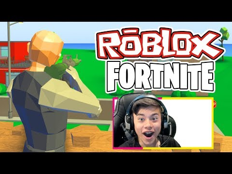 Roblox Battle Royale Roblox Fortnite Gameplay Youtube