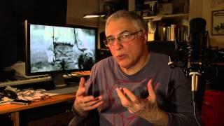 Rudolf Péter színművésszel Vészi János beszélget a Jób lázadása c. film vetítése után
