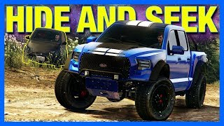 GTA 5 Online : Hide & Seek!! [Mount Chiliad Edition]