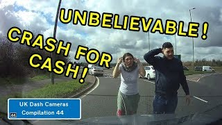 UK Dash Cameras - Compilation 44 - 2018 Bad Drivers, Crashes + Close Calls