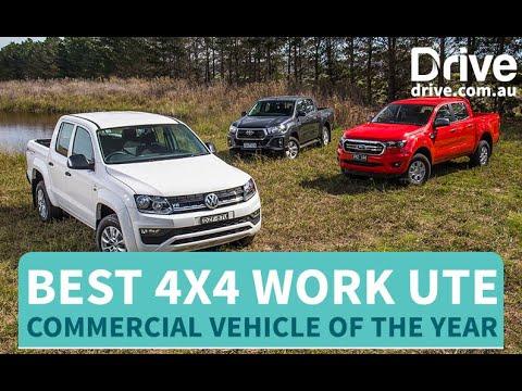 2019 Best 4x4 Work Ute   Toyota HiLux v Ford Ranger v Volkswagen Amarok