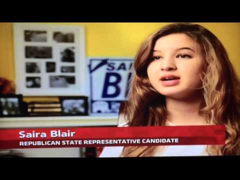 Saira Blair for West Virginia House PBS Interview - YouTube